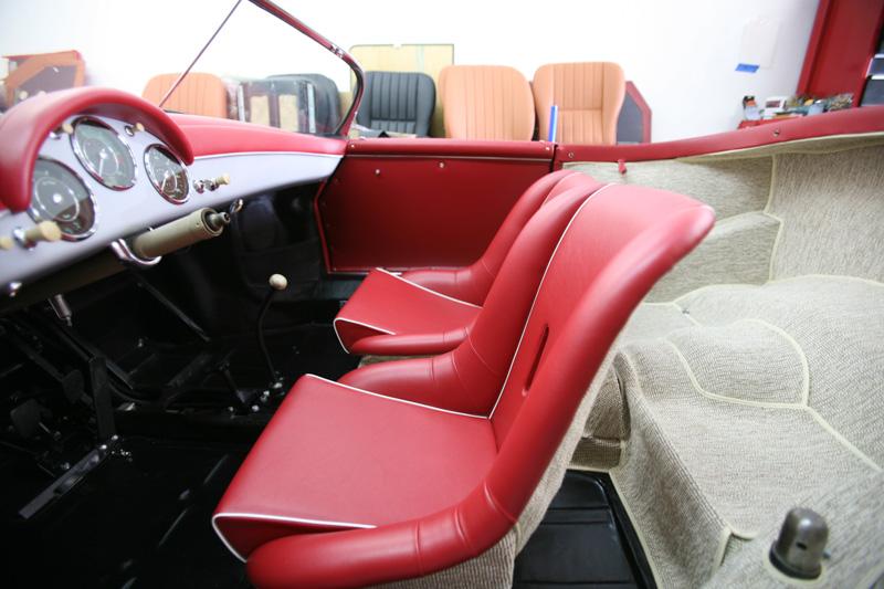 Gallery Porsche 356 Speedster GT KH European Auto Upholstery