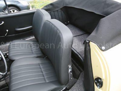 Porsche 356 Cabriolet Black Interior-10
