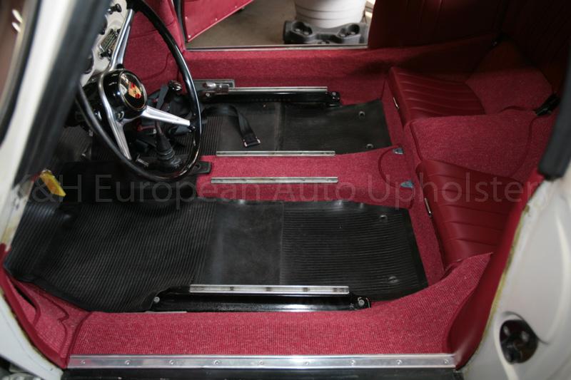 Gallery Porsche 356 Coupe Karmann Red Interior K Amp H