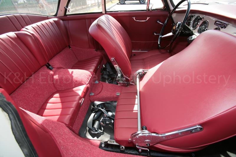 Porsche 356B Coupe T5: (1960 – 1961) Complete Interior Set – K&H