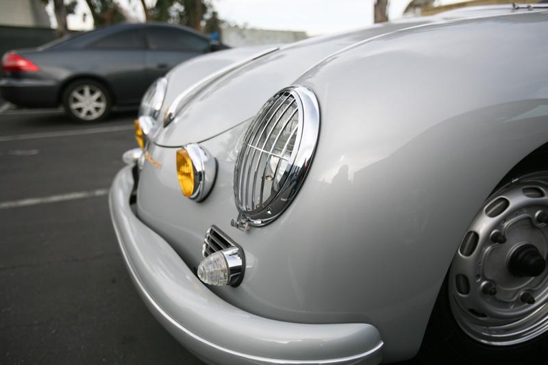 Porsche 356 Speedster Silver GT