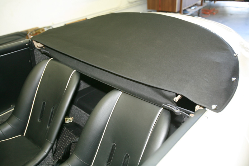 Gallery Porsche 356 Speedster Top And Boot Cover K Amp H