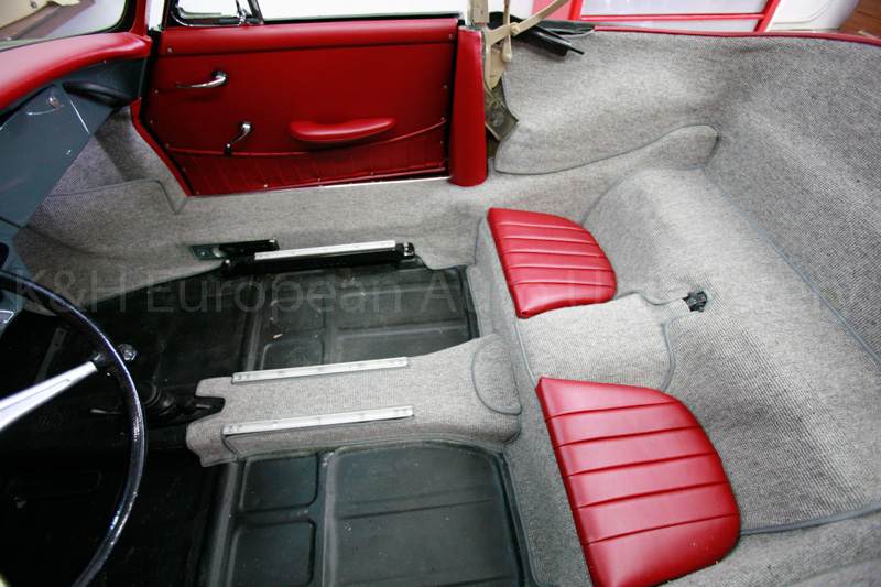 porsche 356b t6 cabriolet carpet set k h european auto upholstery. Black Bedroom Furniture Sets. Home Design Ideas