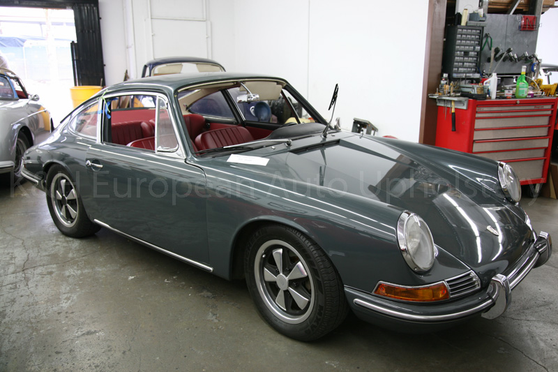 Gallery Porsche 912 Red Black Interior 1966 K Amp H