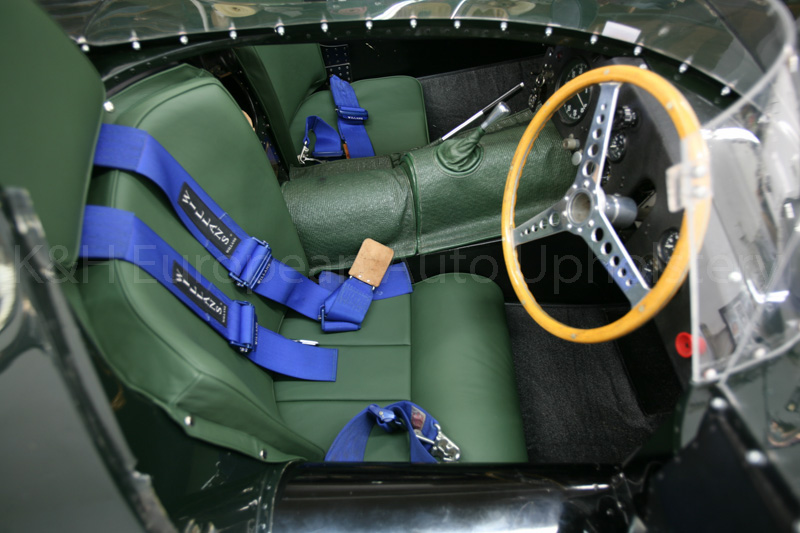 Gallery Jaguar D Type Green Interior K Amp H European Auto