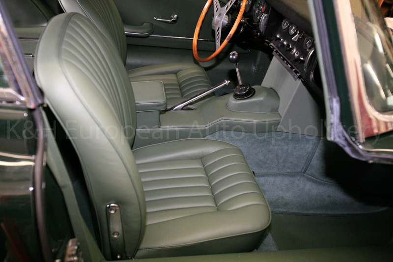 Gallery Jaguar E Type S1 Coupe Green Interior K Amp H