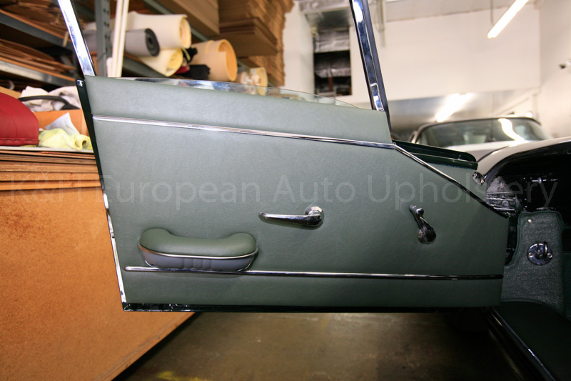 Gallery Jaguar E Type S1 Coupe Green Interior K Amp H