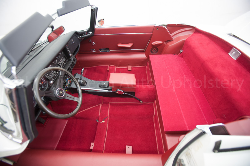 Gallery Jaguar E Type Siii Rds Red Interior K Amp H