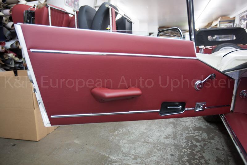 Gallery: Jaguar E-Type SIII RDS Red Interior – K&H European Auto on