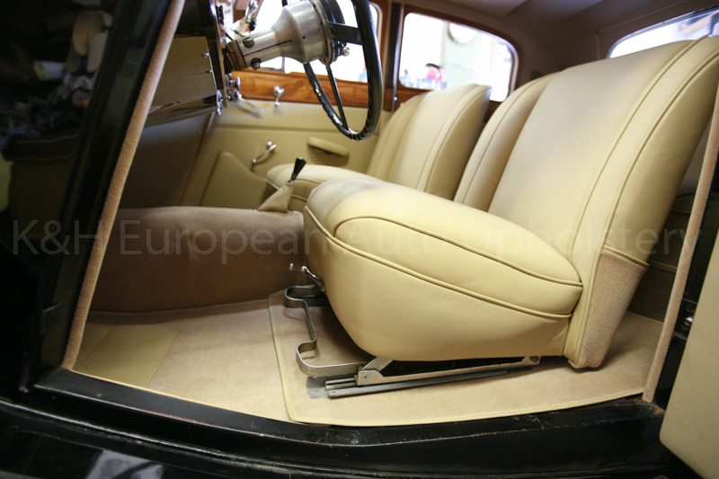 gallery jaguar mark iv tan interior k h european auto upholstery. Black Bedroom Furniture Sets. Home Design Ideas