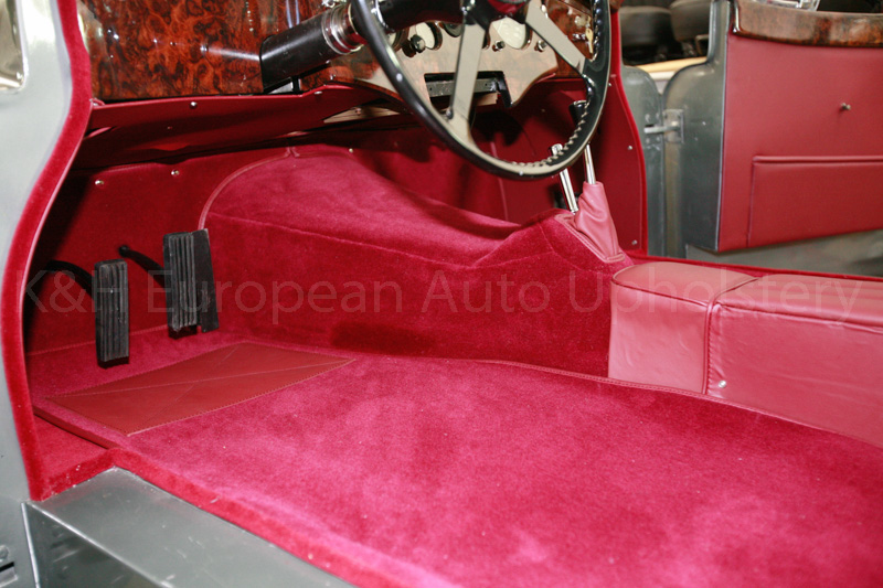 Gallery Jaguar Xk120 Fhc Red Interior K Amp H European Auto