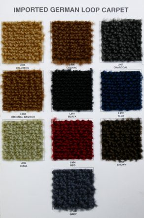Materials Carpet K Amp H European Auto Upholstery