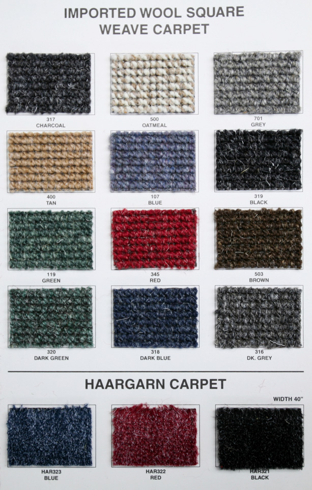 German Square Weave Carpet