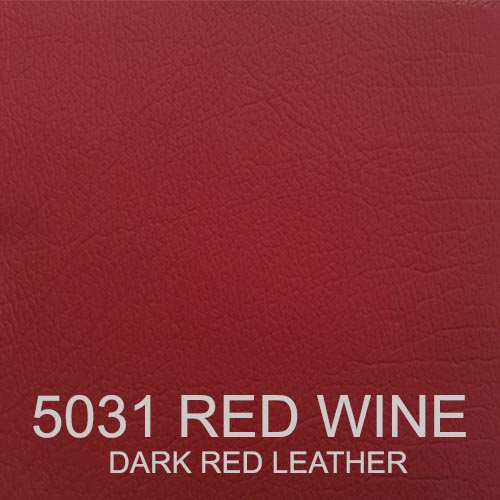 5031 RED WINE LEATHER DARK RED