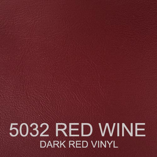 5032 RED WINE VINYL DARK RED