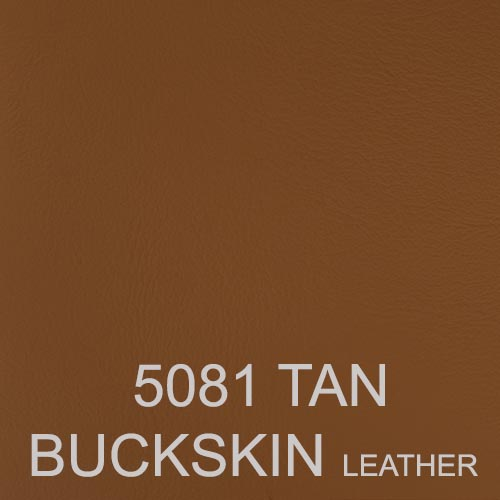 5081 TAN BUCKSKIN LEATHER