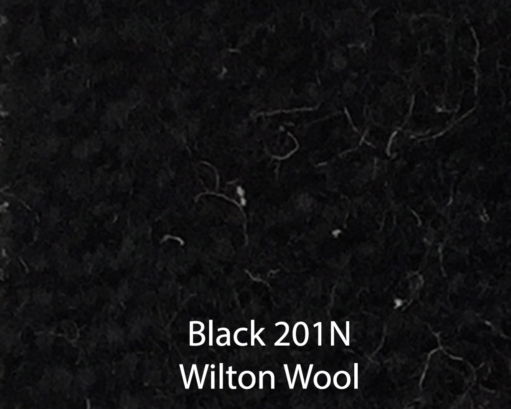 Black Wilton Wool 201N