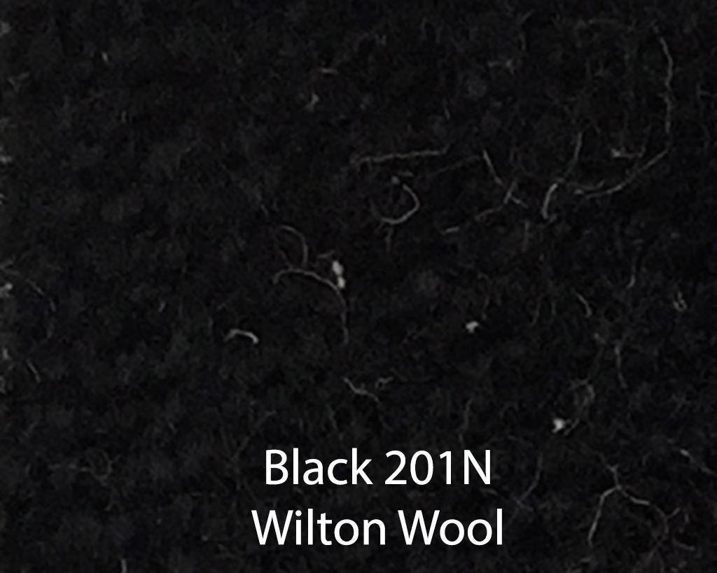 Black Wilton Wool 201N
