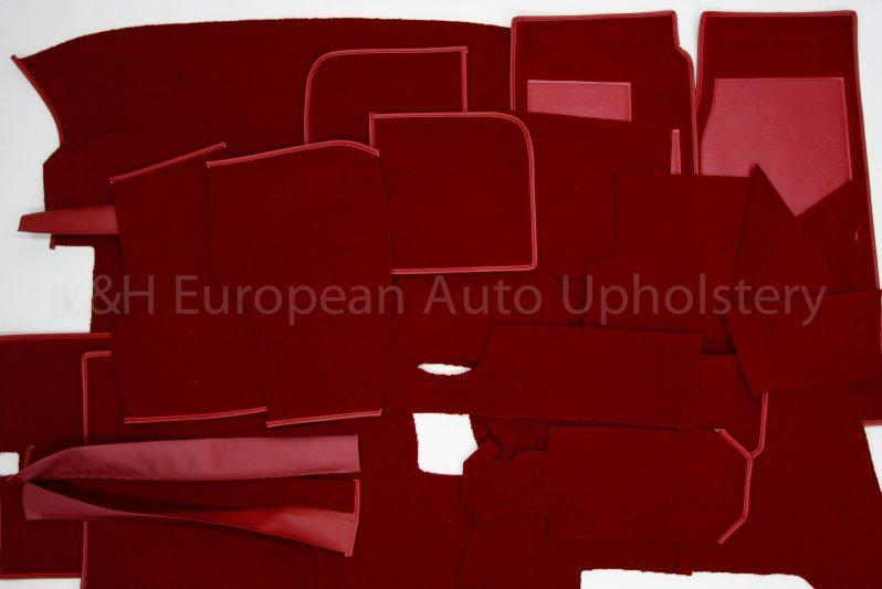Jag Etype Series 3 Roadster Carpet-25