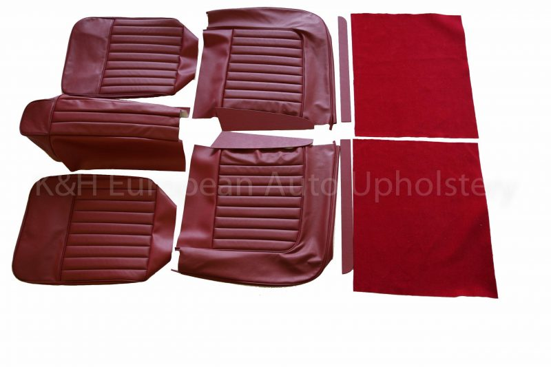 Jag XK120 Roadster Front Seat Cover-1