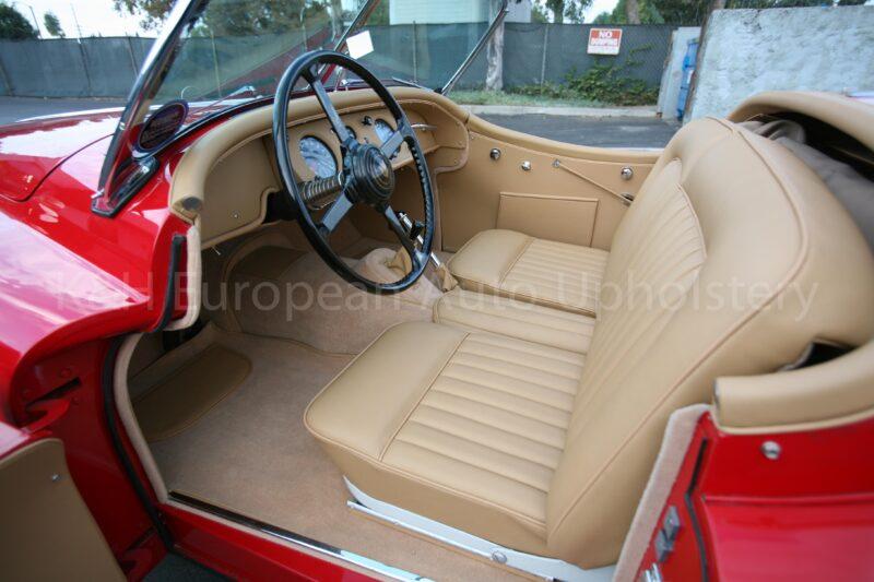 Jaguar XK140 Roadster Front Seat Covers