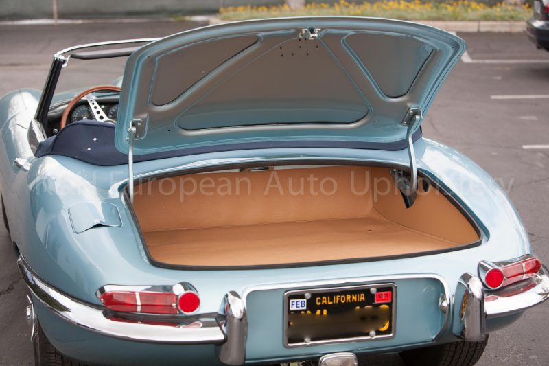 Jaguar E Type Roadster Series 1 Amp 2 1962 1971 Trunk