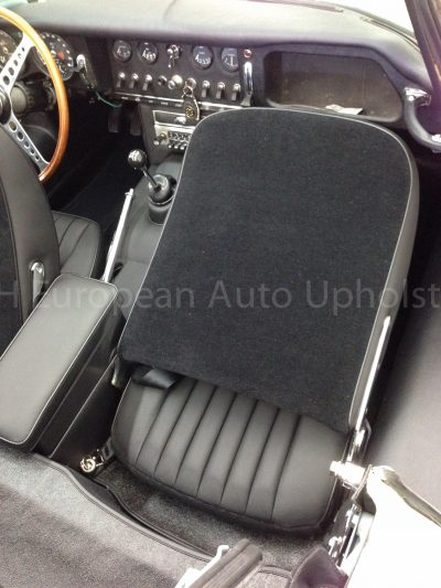 Jaguar E-Type S1 Front Seat Covers