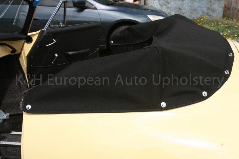 Porsche 356 Stayfast Canvas Boot Cover