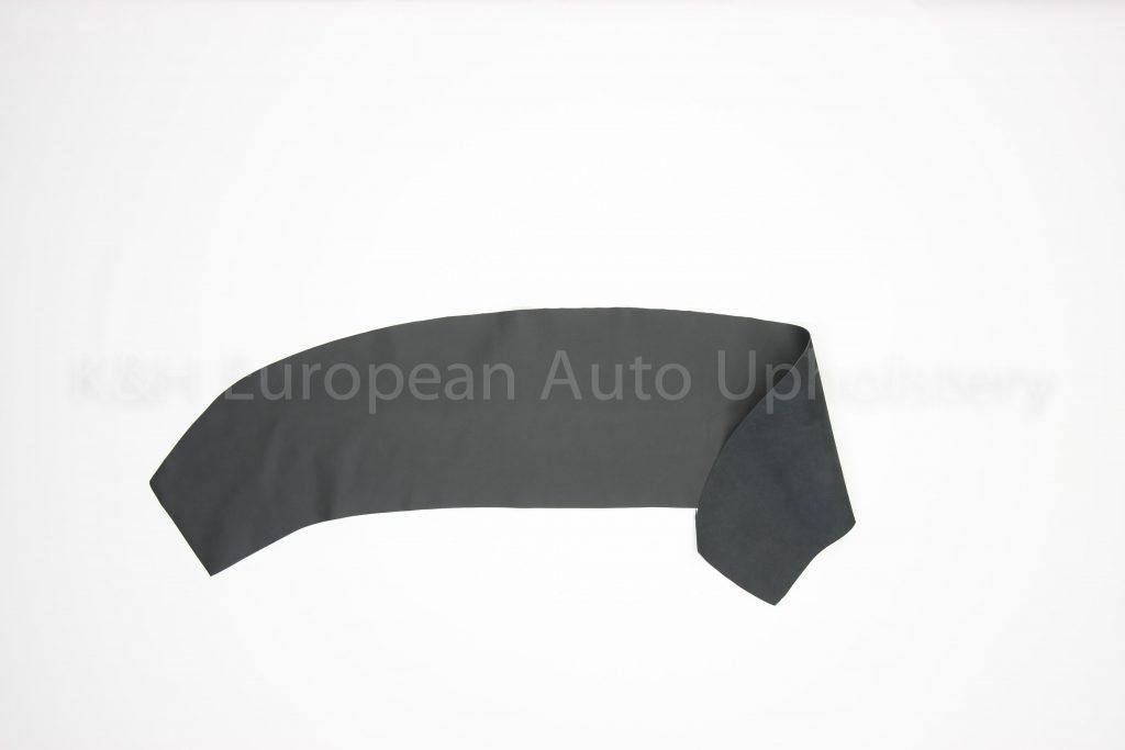 Porsche Black Vinyl