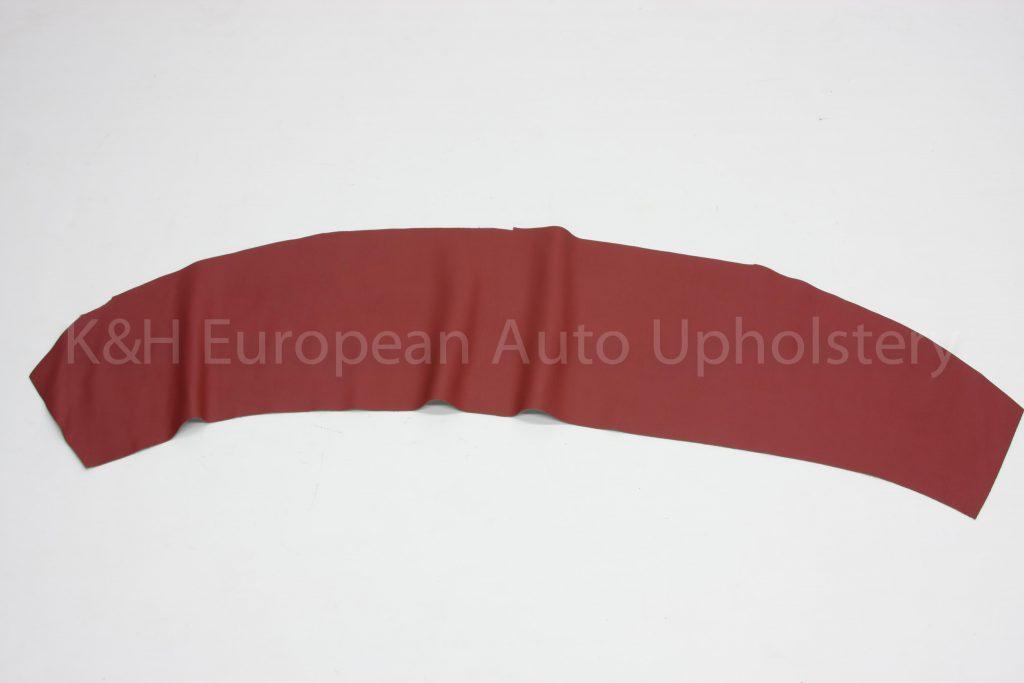 Porsche Red Vinyl