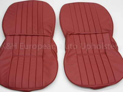 Porsche 356 Front Seat Cover Red-20
