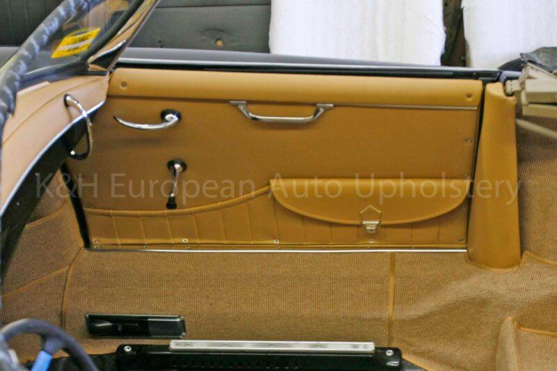 Porsche 356 Roadster Door panel