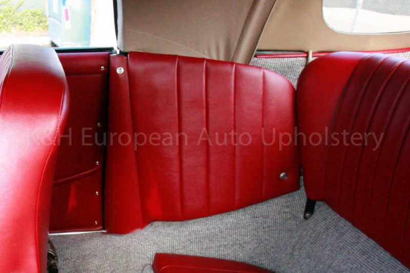 Porsche 356 Cabriolet Quarter Panel Cover