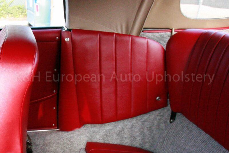 Porsche 356 Cabriolet Quarter Panel Cover