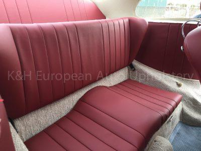 Porsche 356A Rear Seat