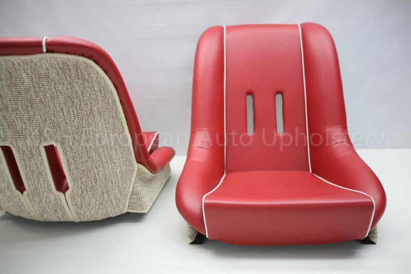 Porsche 356 Speedster 1958 1965 Front Seat Cover Pair K Amp H European Auto Upholstery