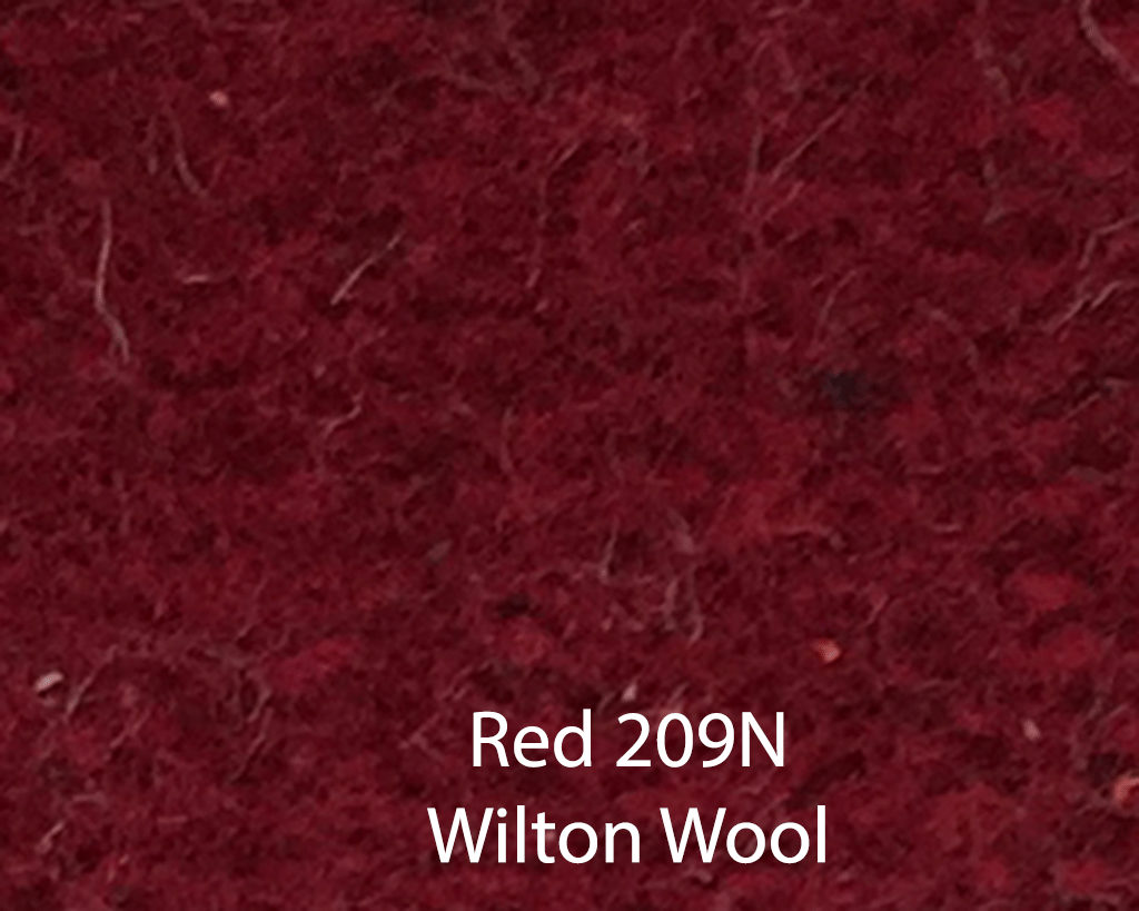 Red Wilton Wool 209N