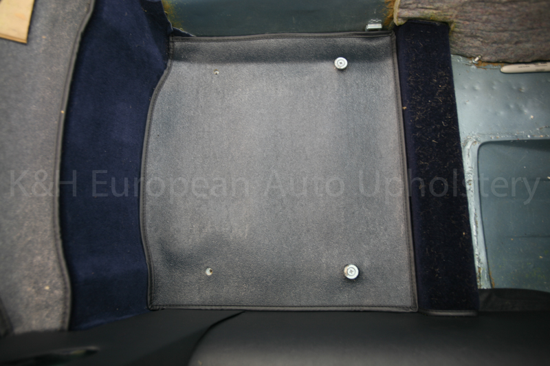 Jaguar E-Type Under Seat