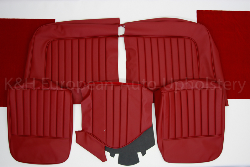 Jaguar XK150 Front Seat Covers