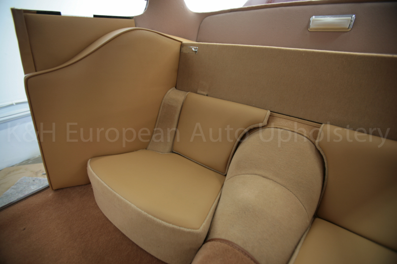 Jaguar XK150 Rear Seat