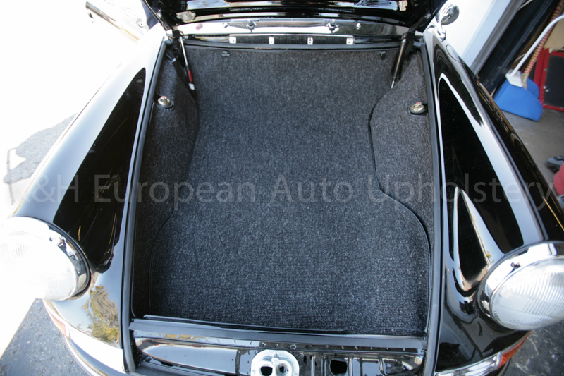Porsche German Square Weave Trunk Charcoal